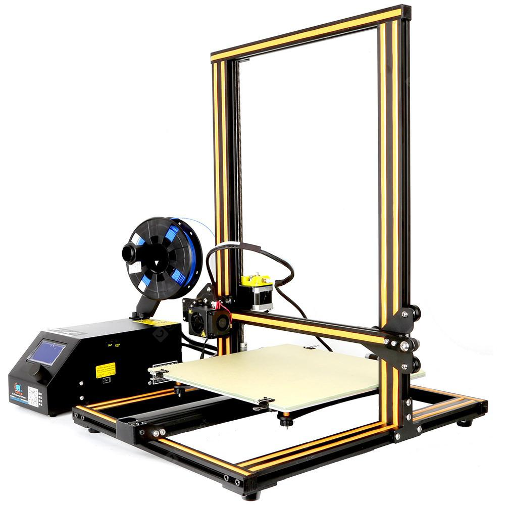Creality3D CR - 10 3D Desktop DIY Printer - COFFEE AND BLACK EU PLUG