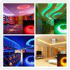 OMTO Light Strip DC 12V Ul Listed Power Supply 5M/16.4 Ft 60 LED S/M SMD 5050 RGB 300 Color Changing Kit with Flexible with 24 Key Ir Controller Bedroom Sitting Room - BLACK