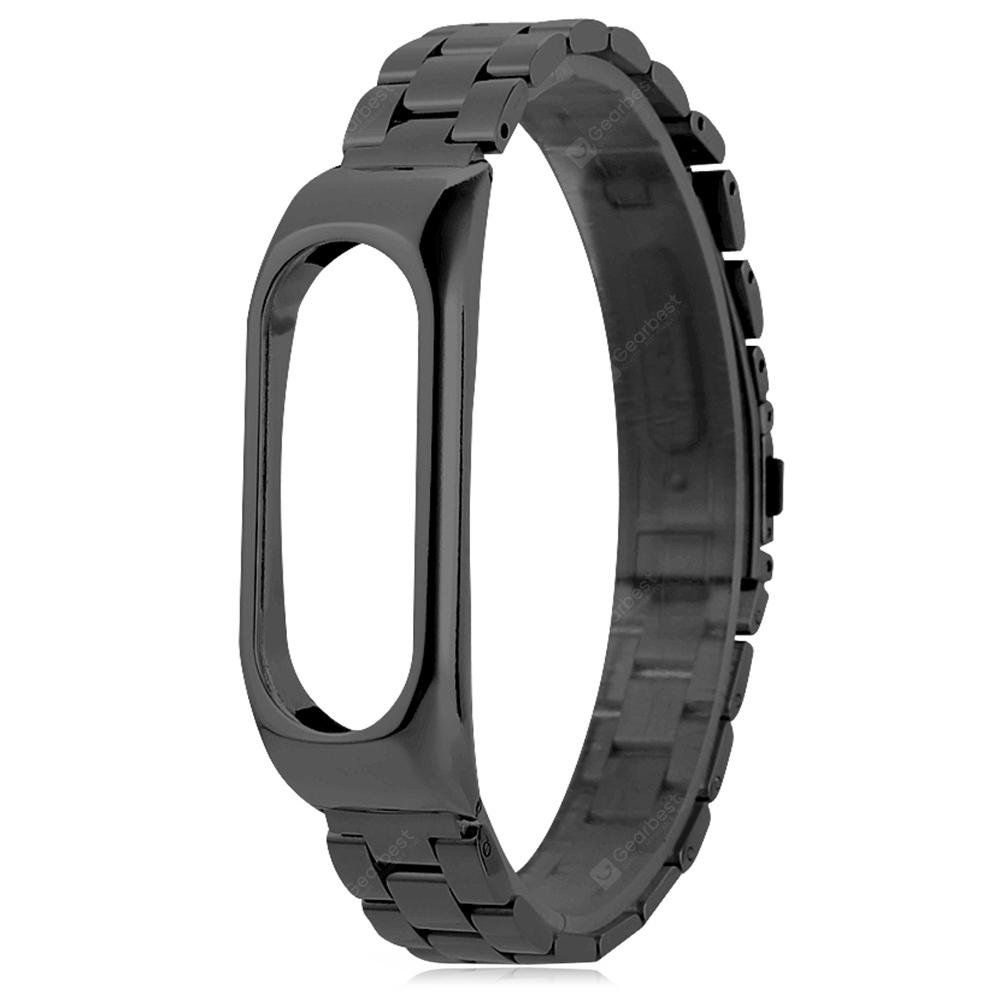 Solid Stainless Steel Wristband for Xiaomi Mi Band 2