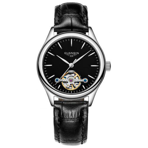 GUANQIN GJ16061 Women Leather Band Watch