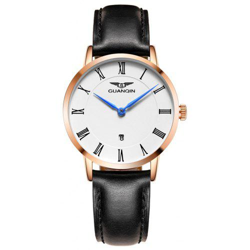 GUANQIN GS19102 - 1A Women Genuine Leather Watch