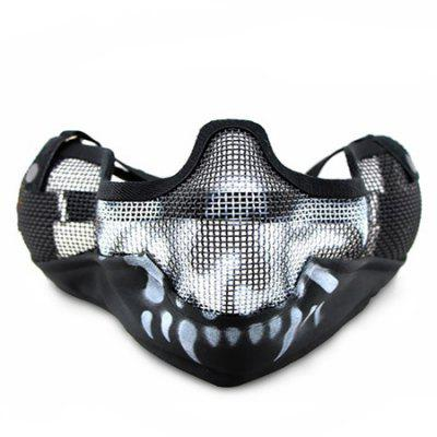 CTSmart MA - 10 Steel Mesh Tactical Half-face Mask