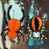 Halloween Ornament Paper Spider Hanging Pendant - COLORMIX