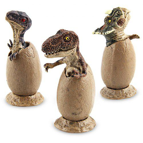 c03df293c2 Baby Dinosaur Egg Style Model Toy 3PCS | Gearbest