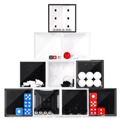 Fidget Box Cube Puzzle Brain Teaser Toy Set Advanced Level