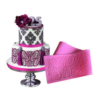 AK Butterfly Lace Wedding Cake Edge Decoration Mold