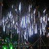 50CM 8 Tubes LED Meteor Shower Rain Lights AC 110 - 240V - WHITE LIGHT