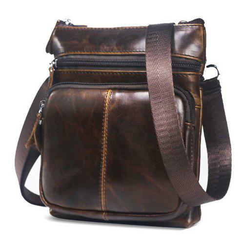 BULLCAPTAIN Leather Shoulder Bag