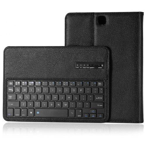 newest e1861 87def Bluetooth Keyboard Case for Samsung Galaxy Tab A / Galaxy Tab S2 9.7 ( T810  / T815 / T550 )