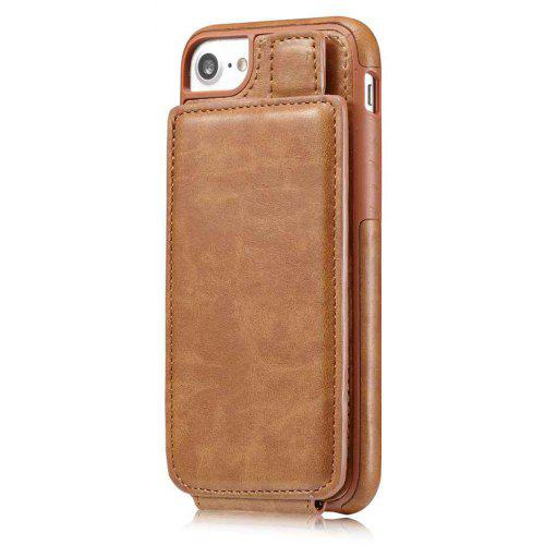 online retailer 47c06 e1c0e PU Leather Up-Down Open Magnetic Snap Case for iPhone 7 / 8