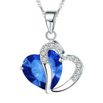 Stylish Heart Shaped Pendant Necklace