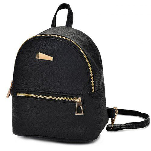 Women Cute Solid Color Mini Backpack -  8.60 Free Shipping 3bc0805905bbe