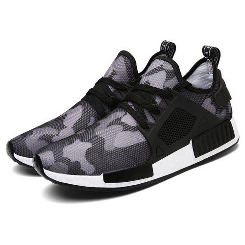 952e0b857643 Men Breathable Lightweight Camouflage Sneakers