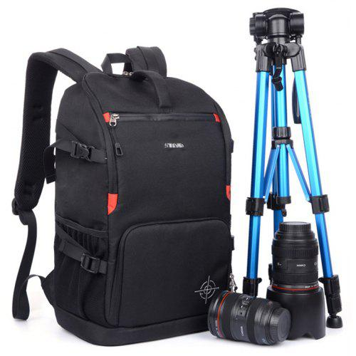 Stylish Water Resistant Nylon Camera Backpack