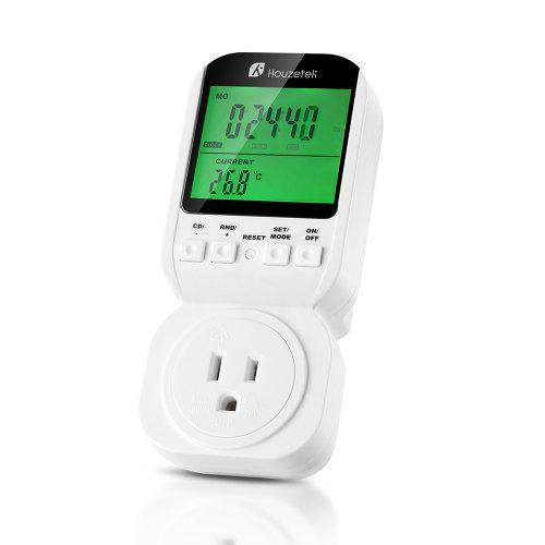 Houzetek Multifunction Thermostat Digital Programmable Timer Socket Switch