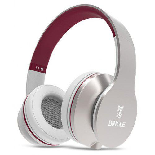 Bingle F1 Music Headphones With Replaceable Wire 2347 Free
