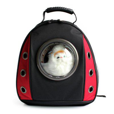 Cats Dogs Portable Travel Capsule Space Bubble Backpack