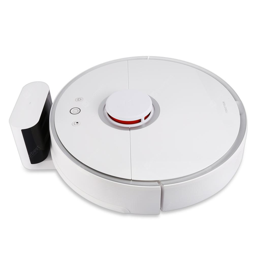 roborock S50 Smart Robot Vacuum Cleaner - WHITE ROBOROCK S50 SECOND-GENERATION INTERNATIONAL VERSION  (entrepôt EU)