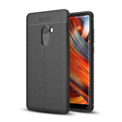 LuanKe Solid Color Style Cover Case for Xiaomi Mi Mix 2