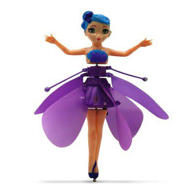 Electric Induction Hover Flying Fairy кукла flying doll toy flying fairy diy baby toys flying fairy