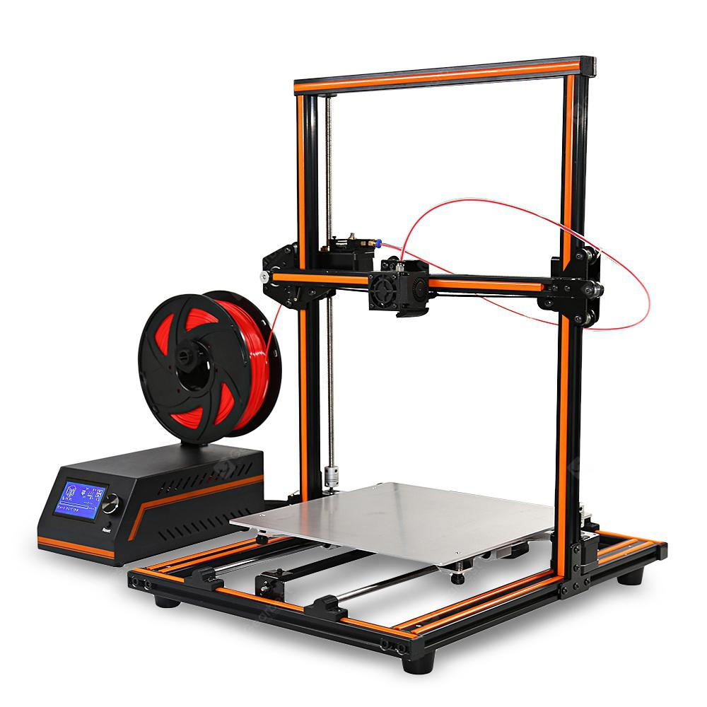 Anet E12 Large Size 300 x 300 x 400 3D Printer DIY Kit - Orange EU