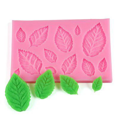 50 - 553 Leaves Shape Silicone Cake Mould
