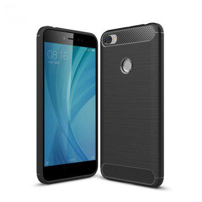 Luanke TPU Carbon Fiber Line Pattern Case for Xiaomi Redmi Y1