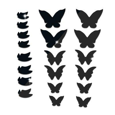 DIY Removable Butterfly Shape Acrylic Decal Wall Sticker