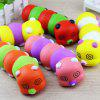 Cute Caterpillar Style Slow Rising Jumbo Squishy Toy - COLORMIX