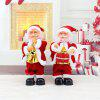Christmas Holiday Gift Electric Twisted Santa Claus - RED