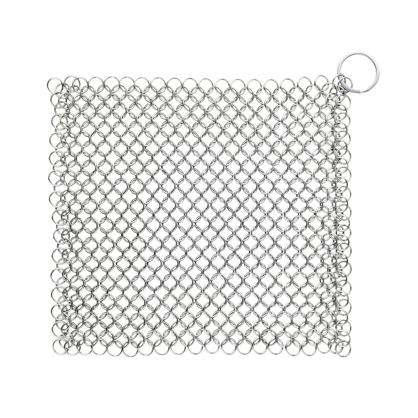 zanmini ZS04 Square Stainless Steel Chainmail Scrubber
