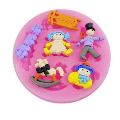 Fondant Cake Jelly Pudding Silicone Mold