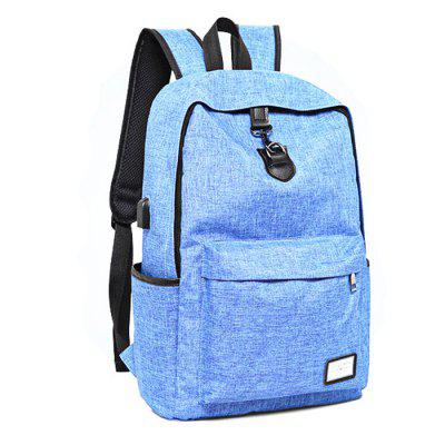 CTSmart 6102 USB opladen waterdicht anti-slip Backpack