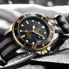 TEVISE T801 Mechanical Watch - BLACK AND GOLDEN