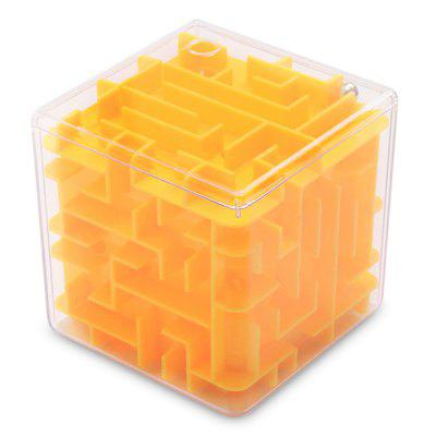 2-in-1 Creative 3D Plastic Cube Maze Piggy Bank