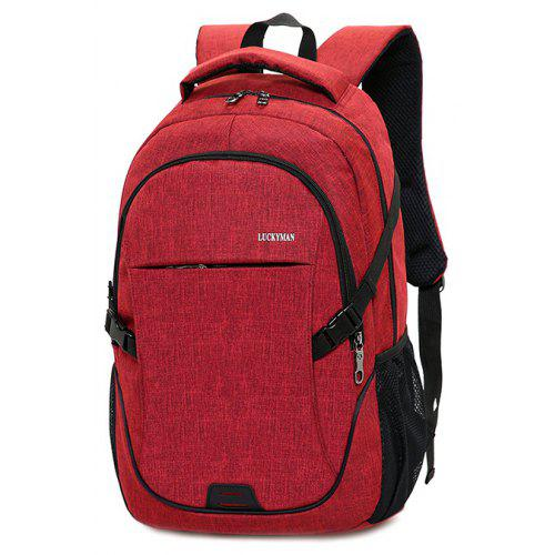 39974c7a4f42 Trendy Durable Large Capacity Canvas Backpack -  14.80 Free Shipping ...