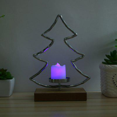 Metal Art Star Romantic Candle Holder for Christmas decoration