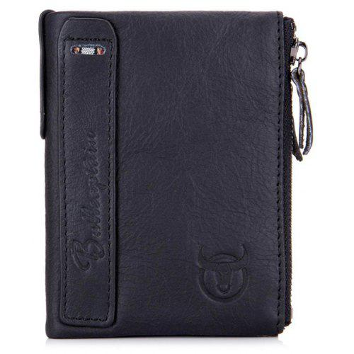 ... Coin Purses&Holders · Luggage&Travel Bags · Wallets. BULLCAPTAIN Men Retro Genuine Leather Bifold Wallet