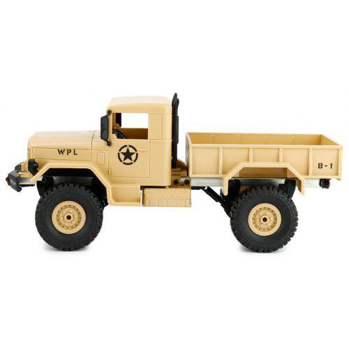 WPL B - 1 1:16 4WD DIY Off-road RC Military Truck - RTF