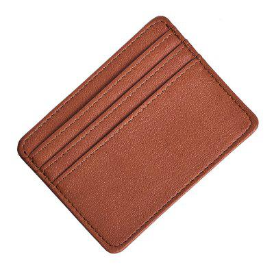 Leisure Slim PU Card Holder