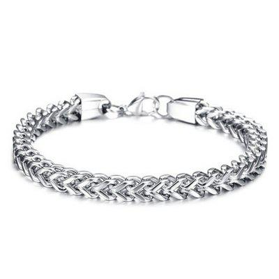 Stainless Steel Multi Strand Chain Men Bracelet