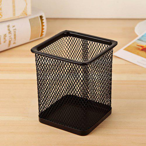 WUIBN Pen Pencil Holder Container Organizer for Office School - BLACK A