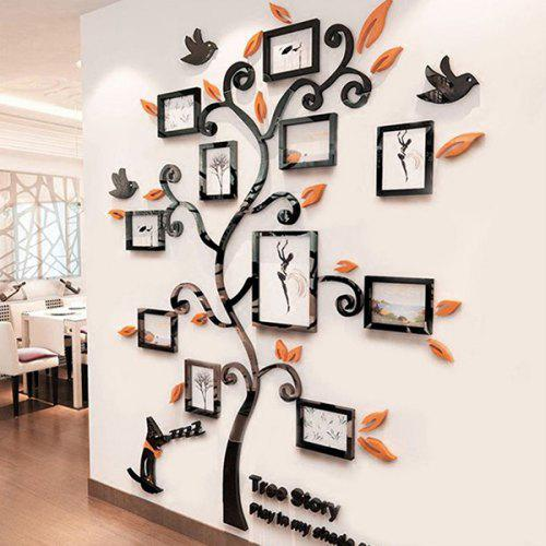 gearbest usa: creative photo tree 3d wall stickers - $31.35 fast