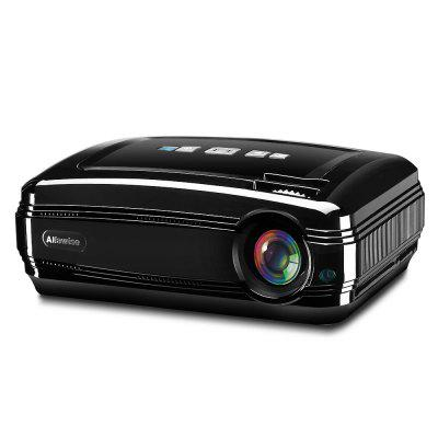 Refurbished Alfawise X LCD Projector HD 1080P / 3200 Lumen / Dual Band WiFi / Bluetooth 4.0 Support 4K