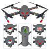 Christmas Style Sticker for DJI Drone - COLORMIX