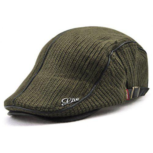 c9269f435be JAMONT Thicken Keep Warm Knitted Peaked Cap for Men -  5.13 Free ...