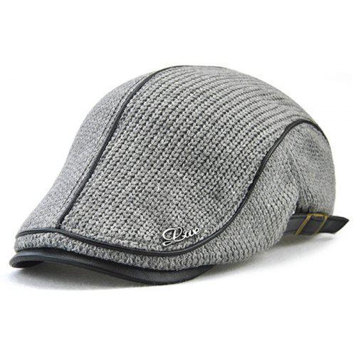 1176ca04eab8b JAMONT Thicken Keep Warm Knitted Peaked Cap for Men