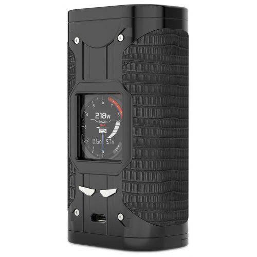 Smoant Cylon 218W TC Box Mod for E Cigarette – Black 245874301, 300 – 600 F / 0.05 – 3ohm / Supporting 2pcs 18650 Batteries | Warehouse: HK-4