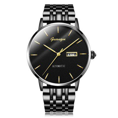 GUANQIN GJ16101 Fine Steel Band Men Watch