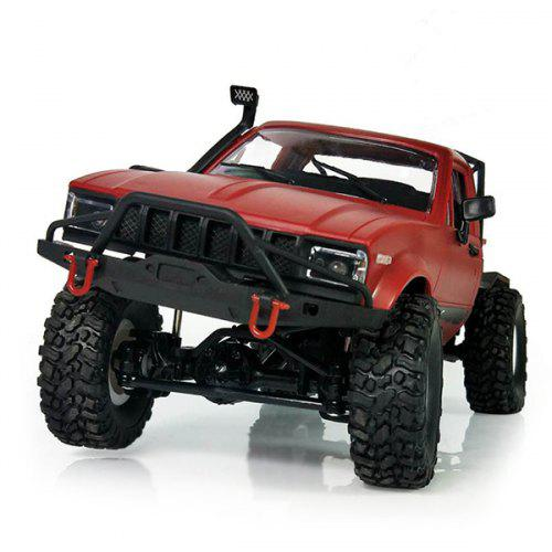 Rc Cars Wpl C24 Diy Radio Controlled Cars Off Road Rc Car Parts 1:16 Rc Crawler Military Truck Body Assemble Kit Electric Car Conversion
